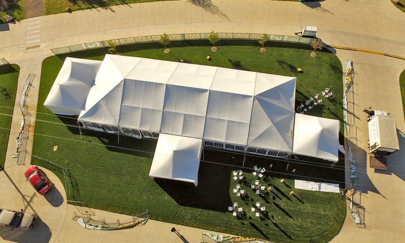 Navi trac frame tent