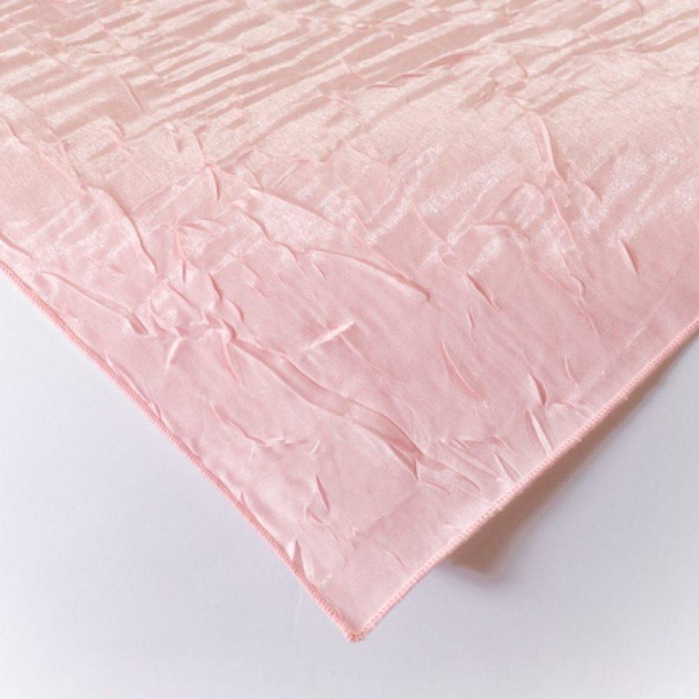 Iridescent Crush Linen Blush Pink
