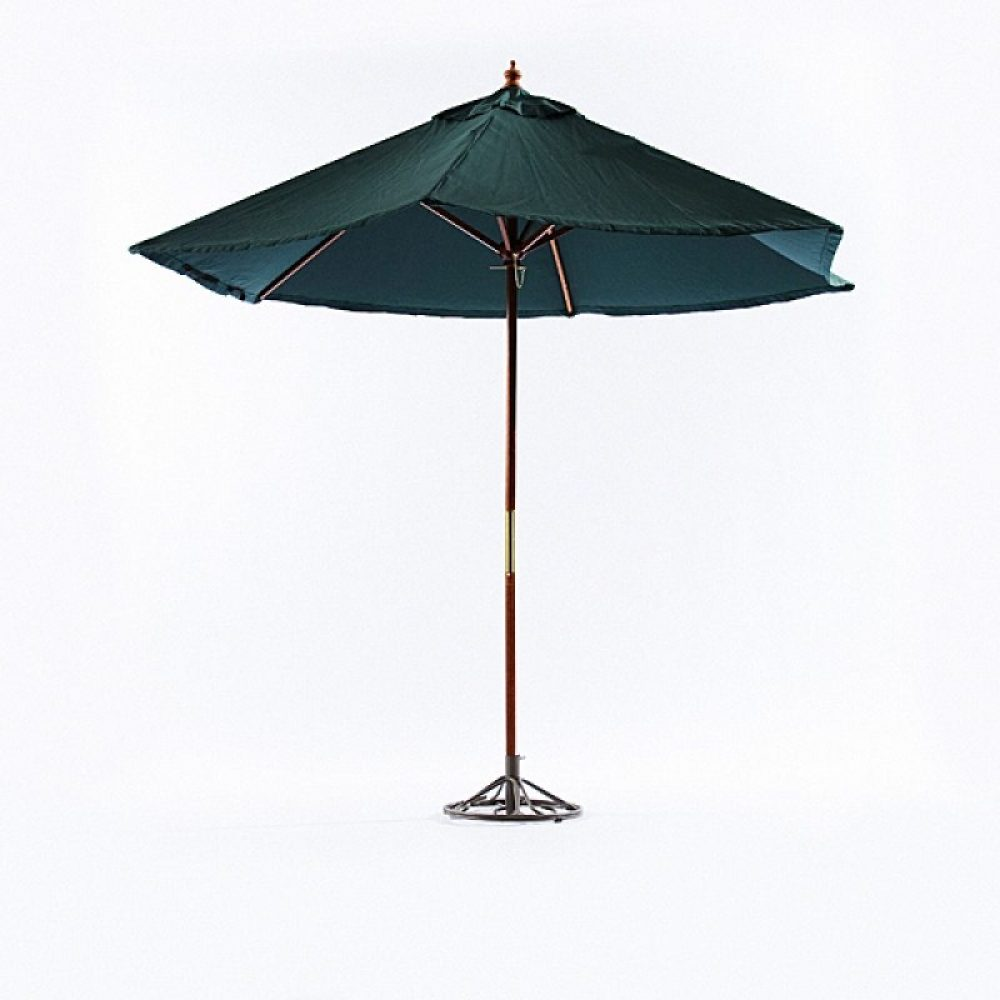 Cafe Umbrella 9' (green)