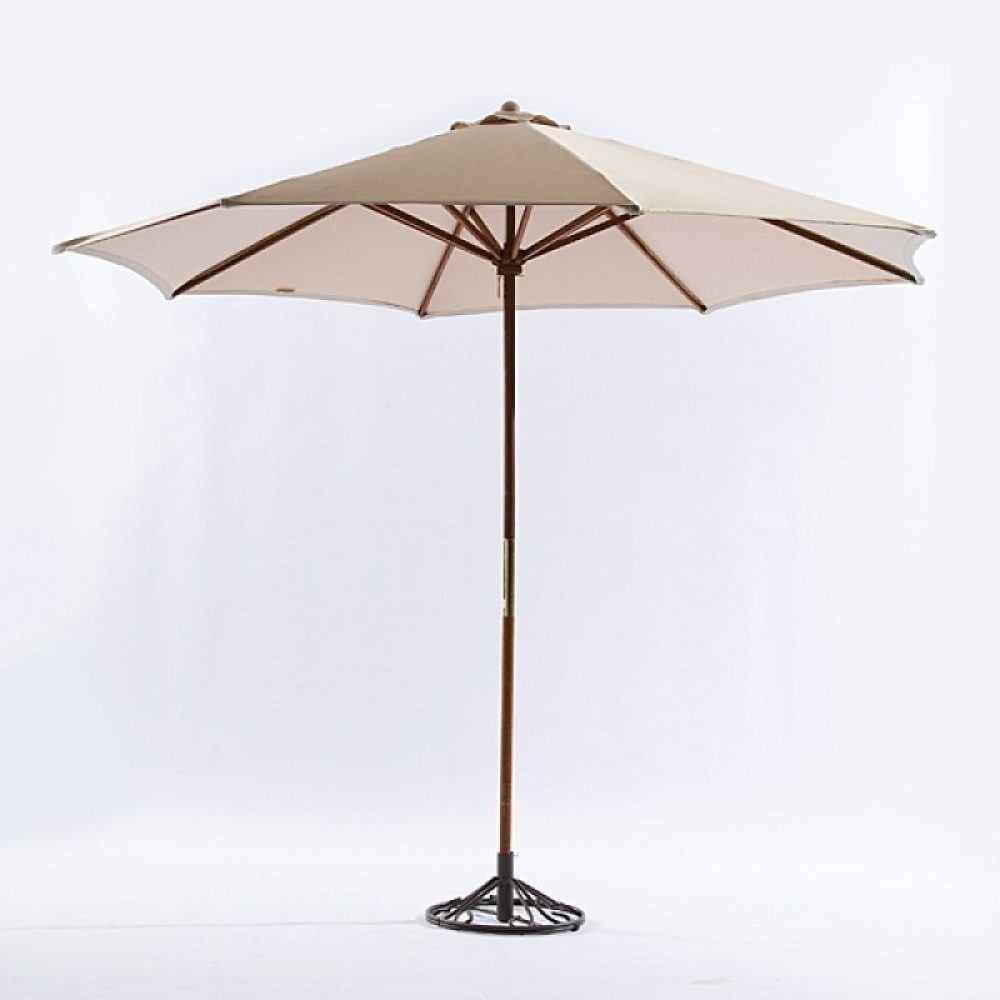 Cafe Umbrella 9' ( tan)