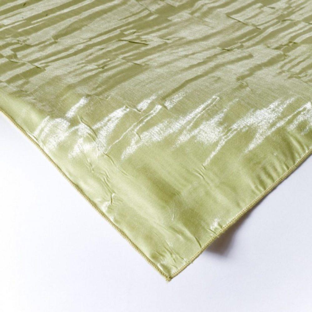 Iridescent Crush Linen Celadon