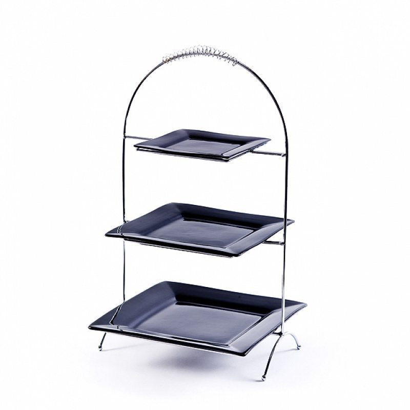 Chrome Triple Tiered Plate Stand ...  sc 1 st  RC Special Events & Plate stand with white plates Archives | RC Events