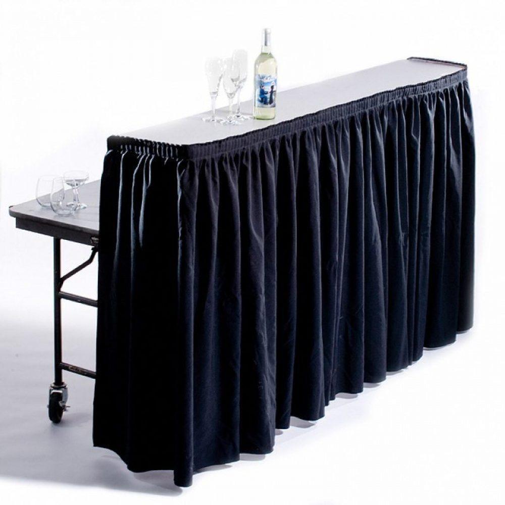 Mobile Rectangular Bar With Skirt