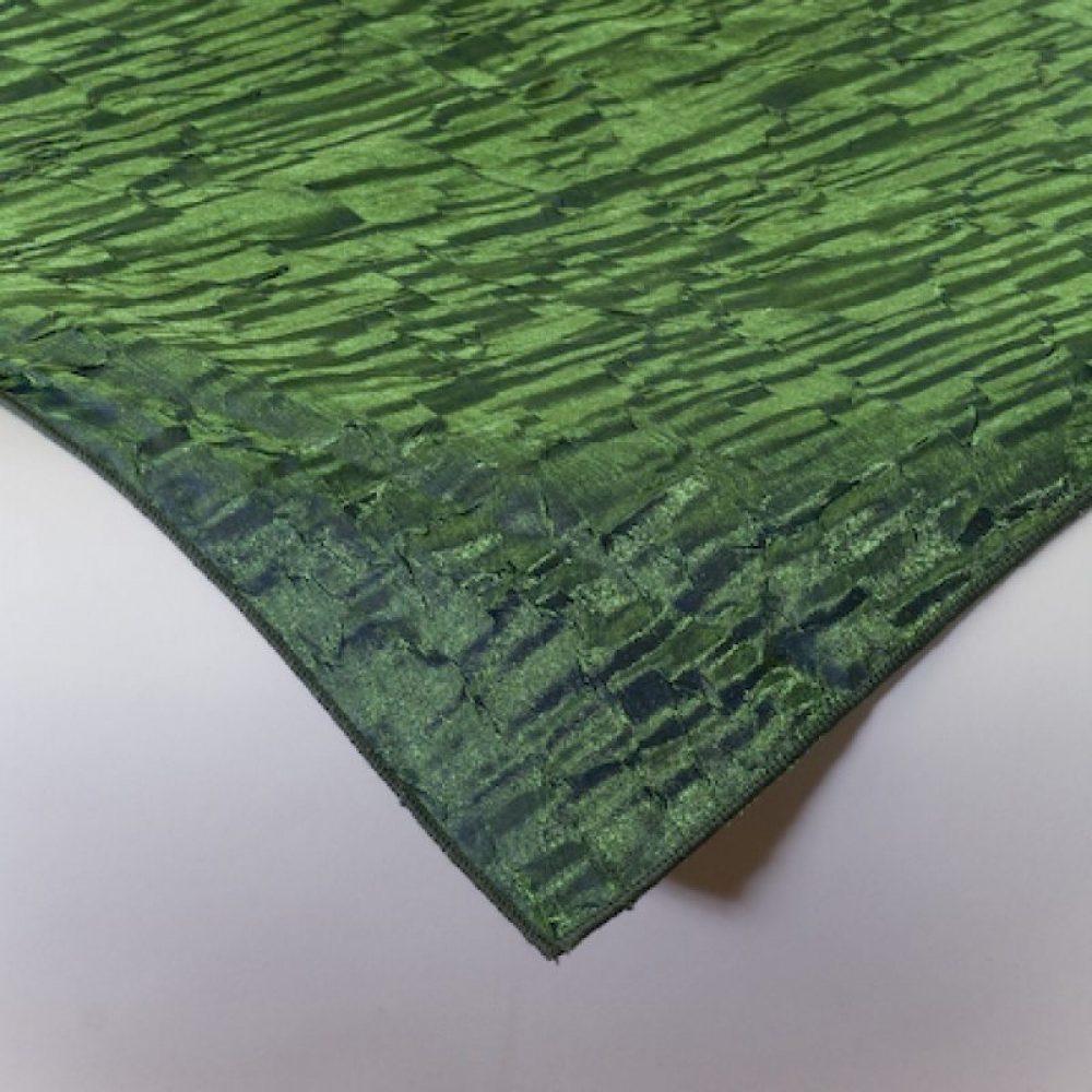 Iridescent Crush Linen Moss