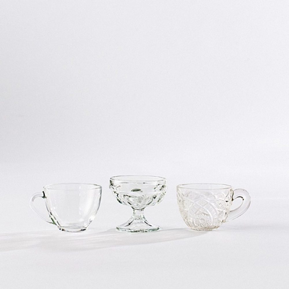 Punch Cups, Sherbet & Dessert Glasses