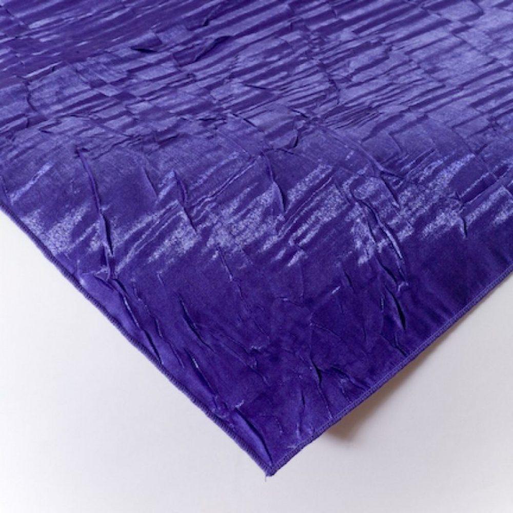 Iridescent Crush Linen Purple