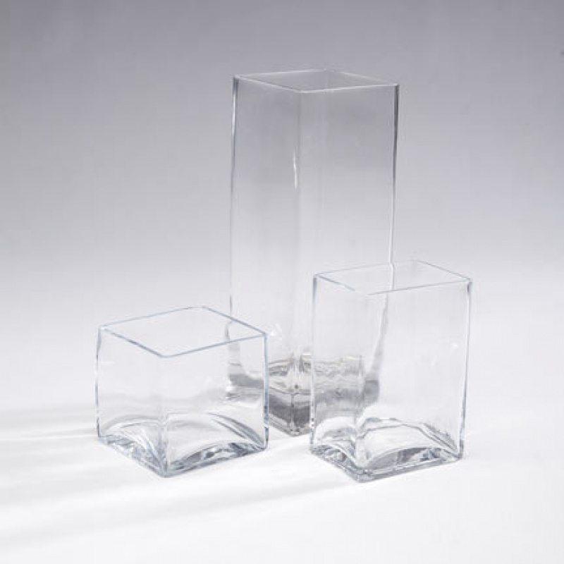 Square Rectangular Vases Rc Events