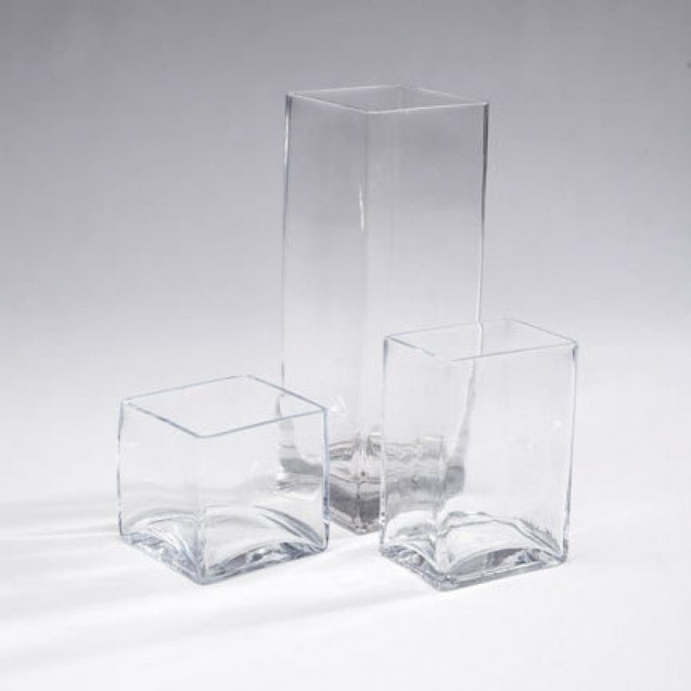 Square & Rectangular Vases