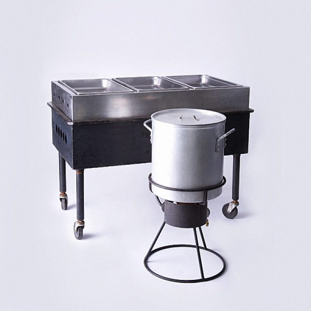 Steam Table & Pot Burner
