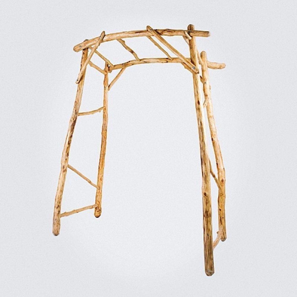 Wood Tree Arch