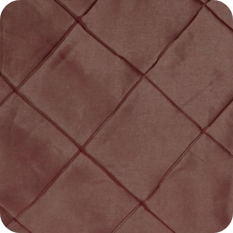 Chocolate Pintuck Linen