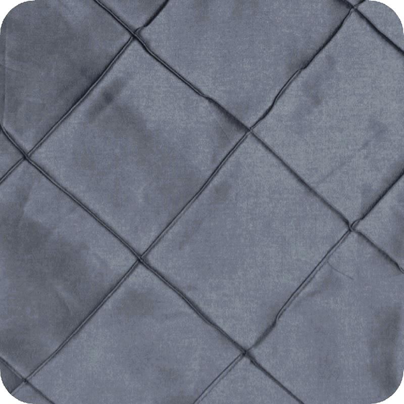 Slate Blue Pintuck Linen