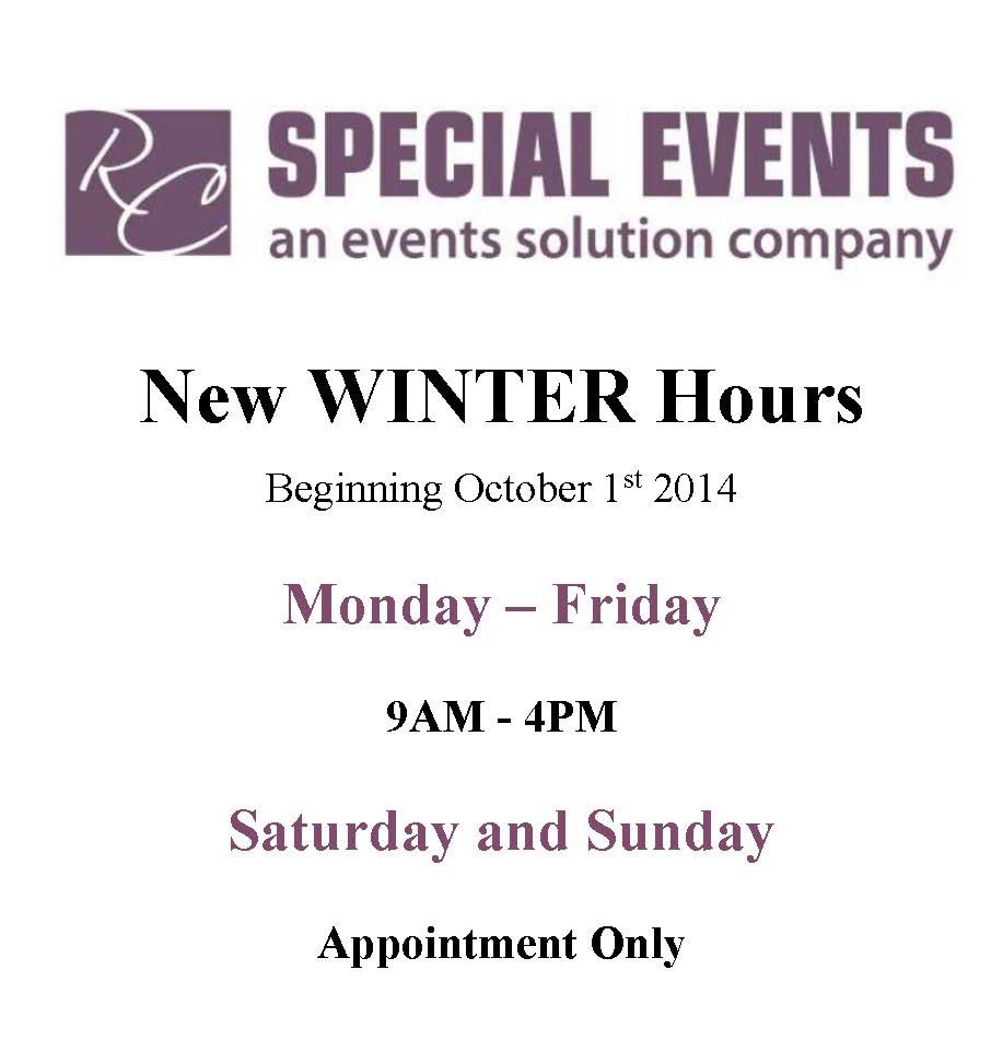 FOCO New winter Hours Sign