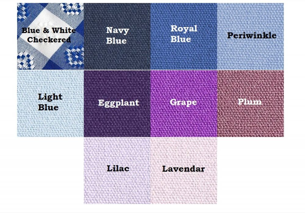 Blue & Purple/Violet Linens