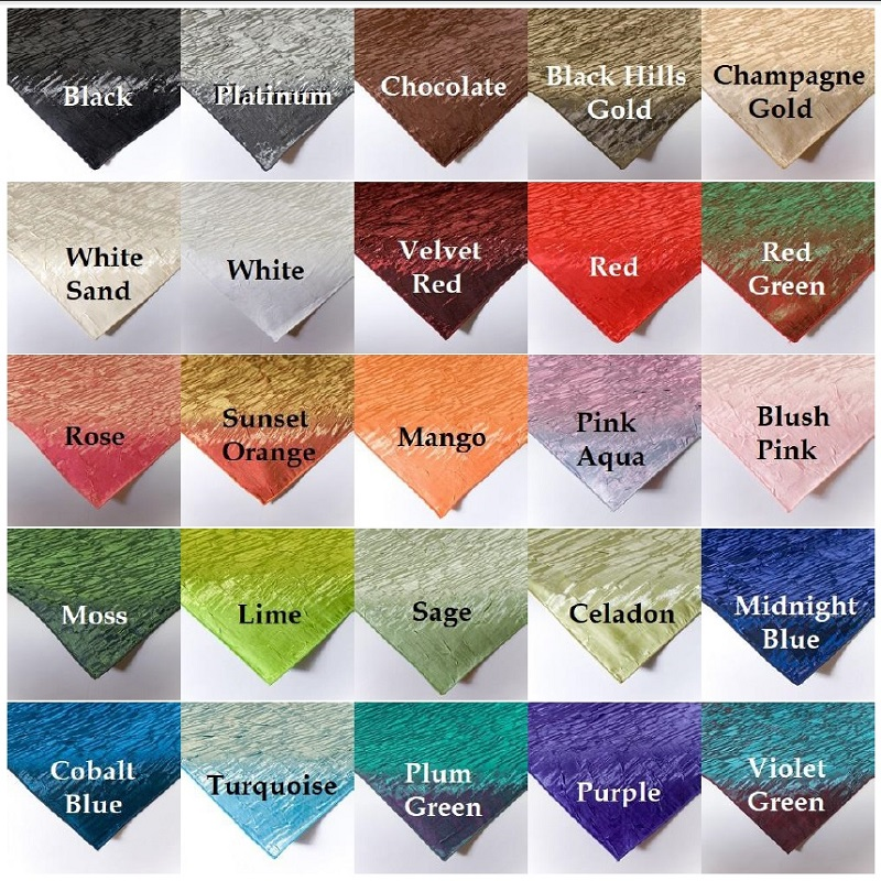 Iridescent Crush Color Swatches